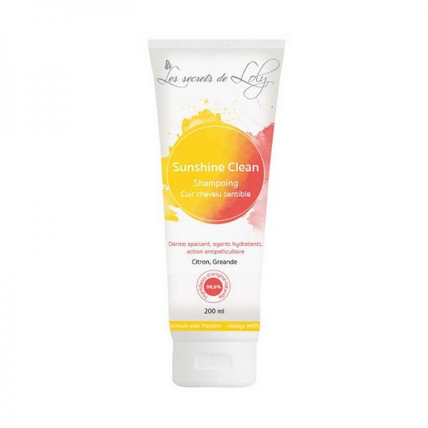 Shampoing Sunshine Clean - Les Secrets de Loly