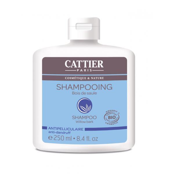 Shampooing au bois de saule, antipelliculaire - Cattier