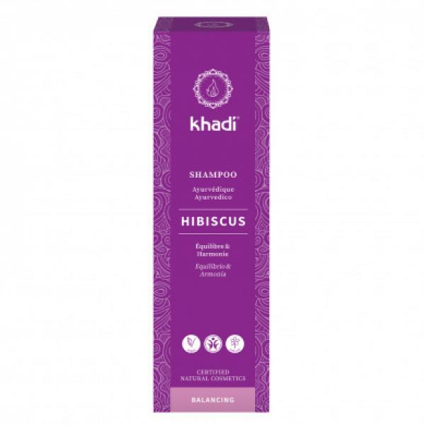 Shampooing ayurvédique hibiscus cuir chevelu sensible - Khadi