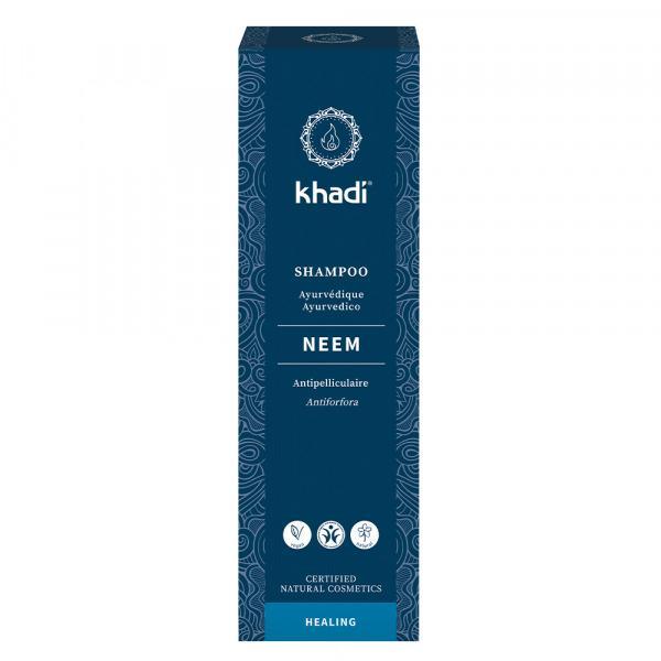 Shampooing ayurvédique neem anti-pelliculaire - Khadi