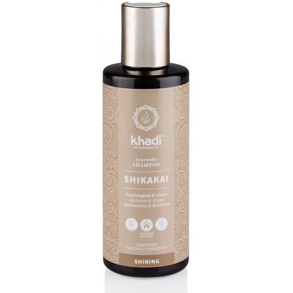 Shampooing ayurvédique Shikakai hydratation et brillance - Khadi