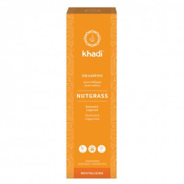 Shampooing ayurvédique Souchet/Nutgrass cheveux normaux à gras - Khadi