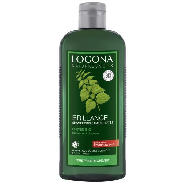Shampooing Brillance à l'Ortie-Logona