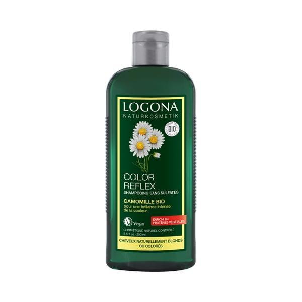 Shampooing Color Reflex à la Camomille -Logona
