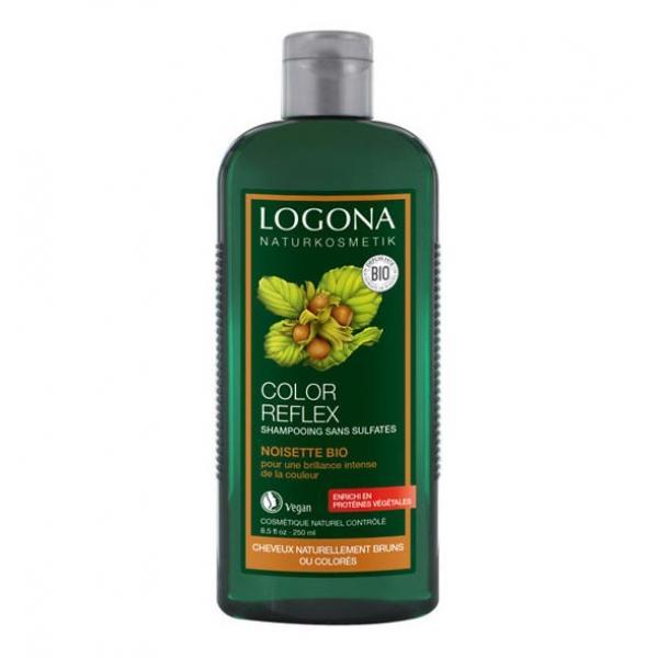Shampooing Color Reflex à la Noisette -Logona