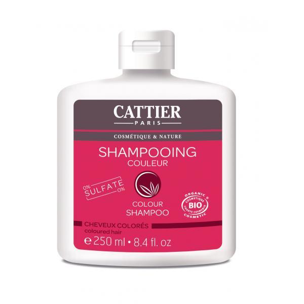 Shampooing couleur pour cheveux colorés - 0% sulfate - Cattier