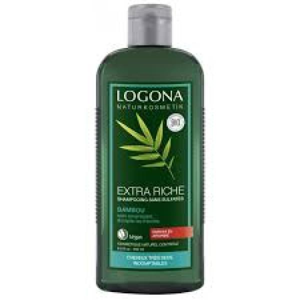 Shampooing Crème au Bambou-Logona