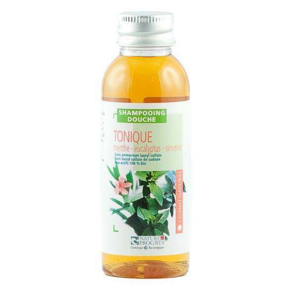 Shampooing Douche Tonique Menthe Eucalyptus Verveine-Cosmo Naturel