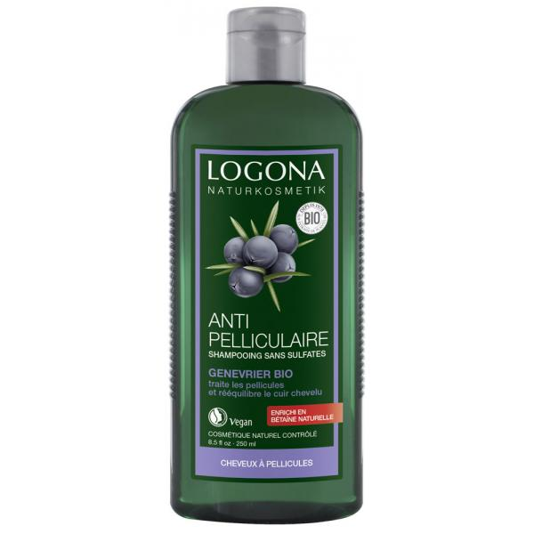 Shampooing Equilibrant Anti-Pelliculaire au Genévrier - Logona