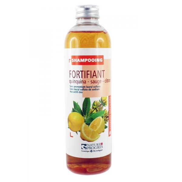 Shampooing Fortifiant Quinquina Sauge, Citron Laboratoire Gravier-Cosmo Naturel