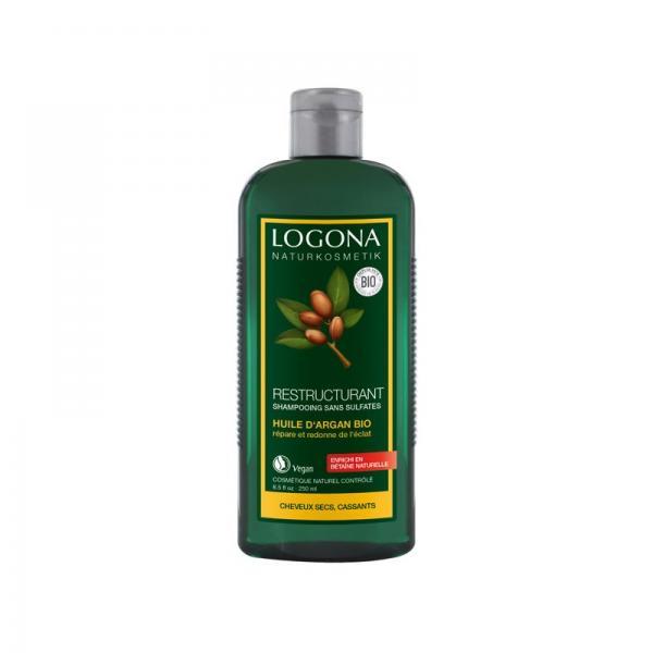 Shampooing Restructurant à l'huile d'argan bio - Logona