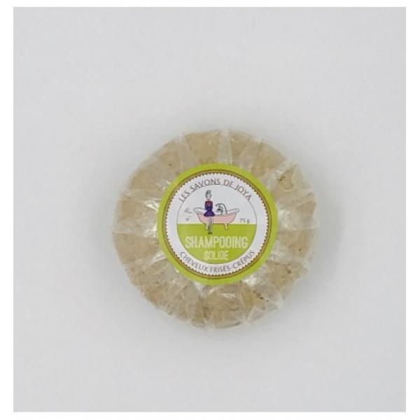 Shampooing solide cheveux frisés crépus - Les Savons de Joya