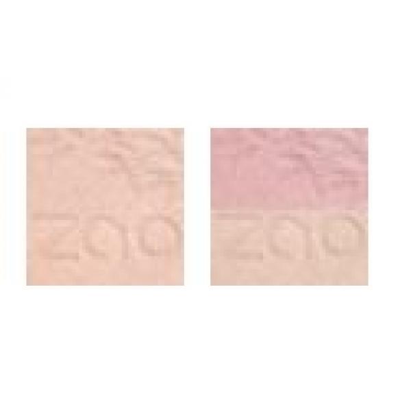 Shine-Up powder enlumineur et sa recharge - Zao Make-up