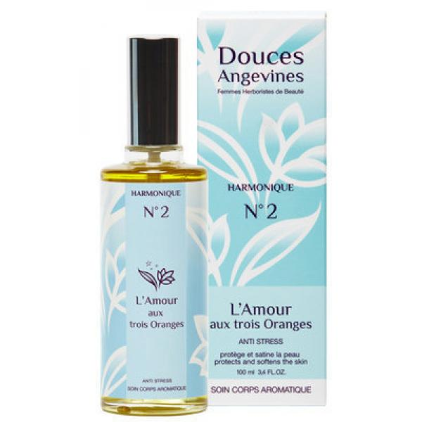 Soin corps - L'amour aux 3 oranges - Harmonique n°2 ANTISTRESS- Douces Angevines