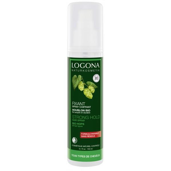 Spray Coiffant Fixant aux Résines Végétales bio-Logona