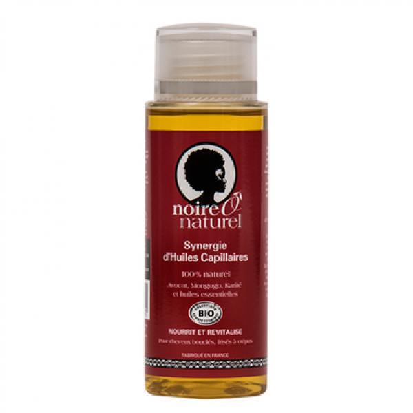 Synergie d'huiles capillaires 100% naturel - Noire Ô Naturel