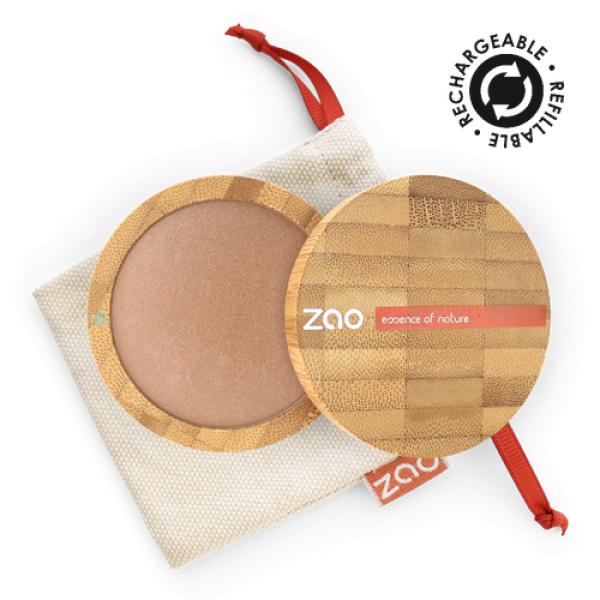 Terre Cuite Minérale et sa recharge - Zao Make-up