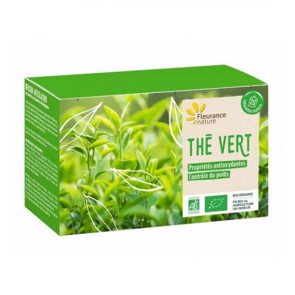 Thé vert bio - Fleurance Nature