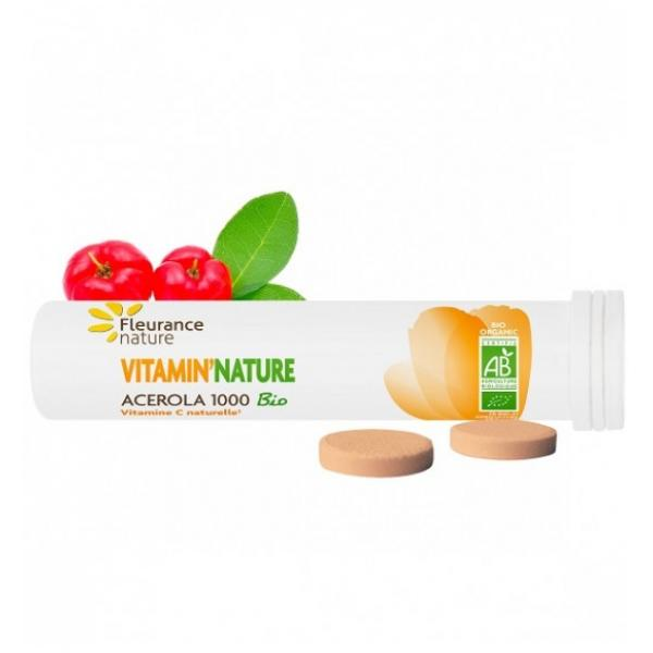 Vitamin'nature Acérola 1000 Bio - Fleurance Nature
